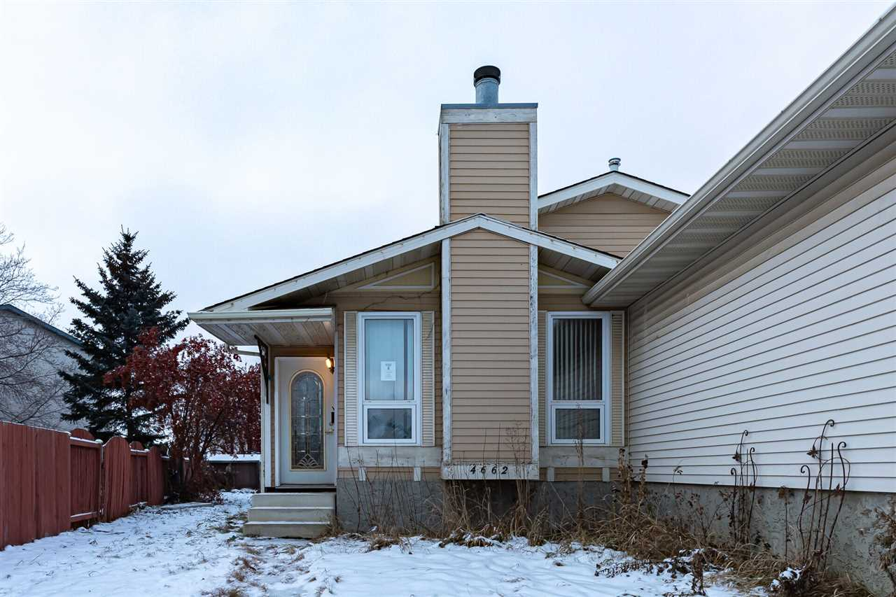 Perfect for first-time home buyer or investor. Priced to sell. Welcome to this Great location in homesteader. This home features massive backyard, 2 bathrooms, spacious basement and minutes away from Yellow Head Trail and shopping areas and much more. Must be seen!