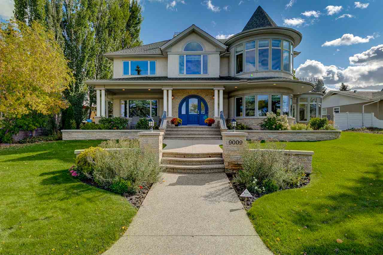 Once in a lifetime opportunity on Saskatchewan Drive! Unsurpassed quality and detail with spectacular River Valley views. Architecturally designed and custom built with impeccable craftsmanship by Habitat Studio. Nearly 5500 sq ft of living space including 6 bedrooms, 5 bathrooms, chef?s kitchen with top of the line appliances, beautiful master suite with steam shower and jetted tub. Stunning vaulted & dome ceilings, incredible millwork and mouldings throughout. Fully developed lower level with family room, games/rec room and fitness room. Other features include superior 2x8 construction, state-of-the-art HVAC, in-ground sprinklers, aggregate patios & walk-ways, triple+ heated attached garage, beautiful landscaping, upper balcony, sunroom, and so much more. Remarkable location in the Heart of Windsor Park just steps to the river valley, university, transit, schools, parks, and just a short drive or bike to downtown. Extraordinary setting and immaculately kept - a truly one-of-a-kind property.