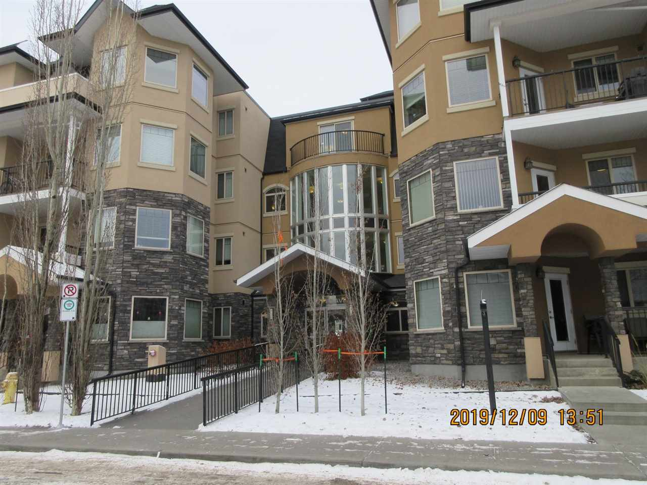 Lovely newer 2 bedroom, 2 bath condo with underground parking. Open design, hardwood, AC and a spacious patio. Desirable Whyte Avenue location near Bonnie Doon, LRT, Mill Creek Ravine, Farmers Market and  the great shops/restaurants/nightlife of Whyte Avenue.