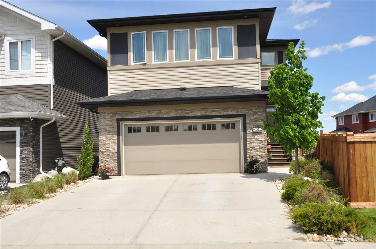 WOW, is the best way to describe this home! Custom built 2534sf 2 storey home, WALKOUT basement and beautiful lake views, what more do you need! This stunning home checks all the boxes and was designed to suit the needs for any family. The moment you walk though the front door, into the very spacious foyer, you?re greeted with natural light throughout. The main level showcases an open kitchen concept, huge dining room and living room with a stone facing fireplace.The Upper level has 3 bedrooms which includes a very spacious master bedroom, 6 piece ensuite and bonus room.  The fully finished basement has an additional 2 more bedrooms, full bathroom, family room and outdoor access to the covered patio.  This home has so many features and $70,000 worth of upgrades, it must be seen in person and will not disappoint.