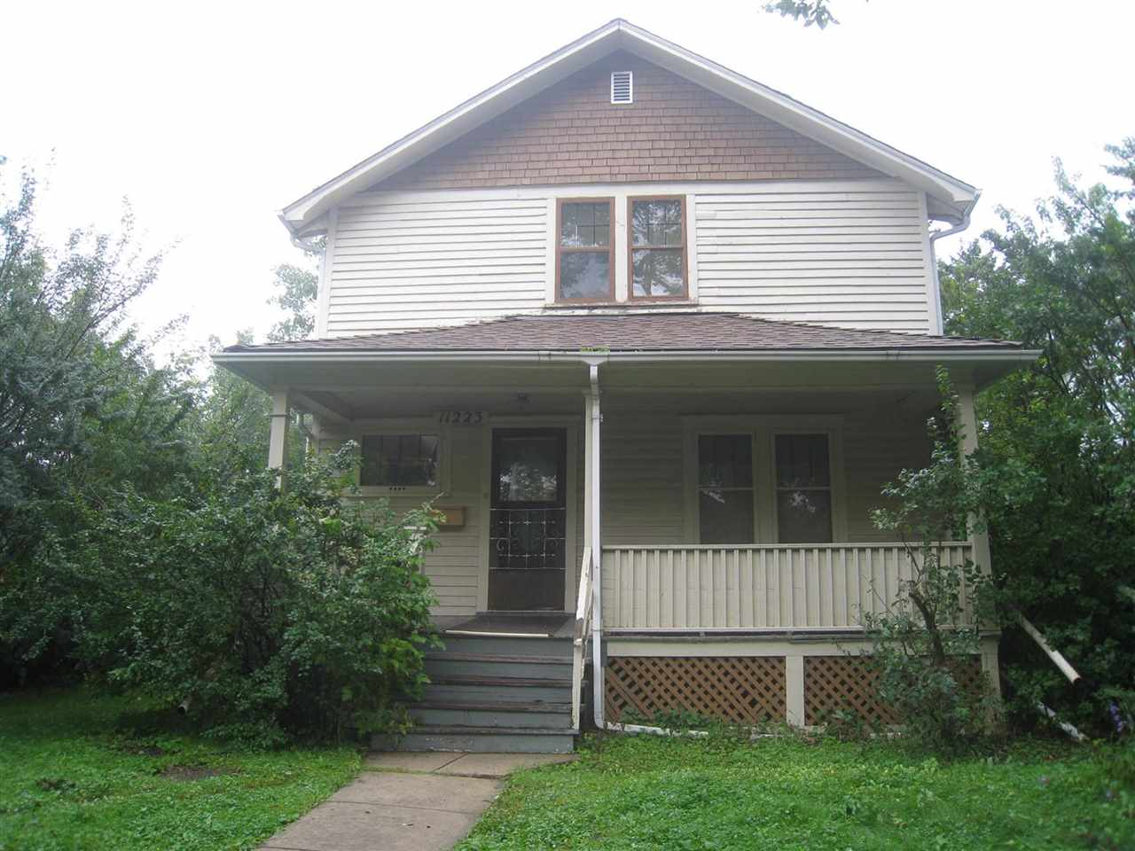 """Property is essentially original a (newer furnace) and is being sold """"as is / where is"""" at time of possession. No warranties. The seller has not lived in the home though it was rented until August 31, 2019. Lot dimensions are 50' x 150' and zoning is RF3. Or as 11223-125 St has some historical significance, the new owner can choose to re-invigorate this part of the city's heritage. This home has not been designated. Come live in trendy Inglewood beside the restaurants and shops of 124 Street. It's just a short hop to the Brewery District for more restaurants and shopping choices. Westmount Shopping Centre, Telus World of Science, great schools, numerous churches, and other community amenities are close at hand. Inglewood is a big part of the heart of Edmonton."""