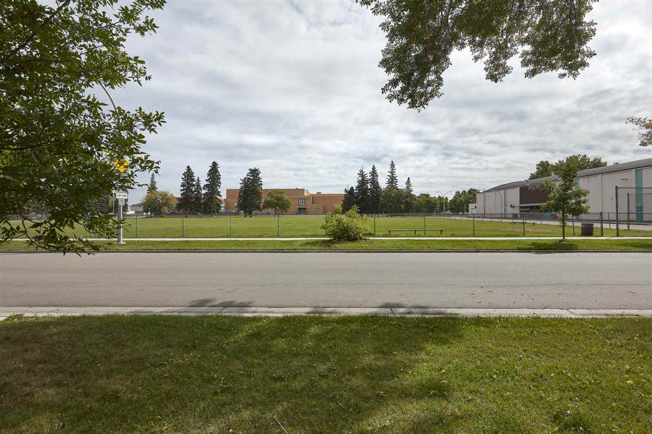 INCREDIBLE LOCATION IN QUEEN ALEXANDRA, across the street from a park! This large and extremely rare 25' wide by 155.6 feet deep lot is waiting for your dream house or spec house. The house has been demolished and is ready for permits. Fantastic access to Whyte Avenue, the UofA/UofA Hosptial, & downtown. Don't miss out on this exceptional opportunity.