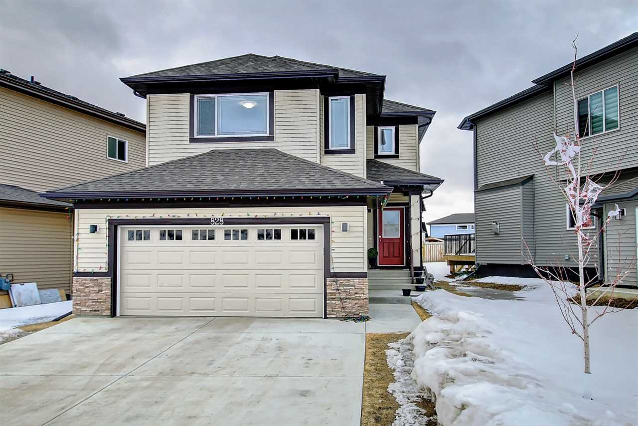 Immaculate, pet-free & smoke-free home is located in the most desirable neighbourhood. Welcome to 828 34 Ave in Maple, an impressive 2350 + sq. ft. home built by Coventry Homes! Entrance door leads to spacious closets, washroom & double garage access door. Main floor offers dining room & open concept kitchen/living room. Main floor also offers a den/office which can otherwise be a 5th bedroom. Kitchen also features spacious corner pantry, large cabinets, stainless steel appliances, large island counter top and dining nook that overlooks your backyard, where backyard access door is also noticeable. Staircase leads to stunning bonus room upstairs with abundance of natural light and view of front lawn. Upper level offers master bedroom with walk-in closet and beautiful 4-piece ensuite, 3 fair-size bedrooms and 3-piece main washroom. There is a convenient laundry room beside the bonus room. HRV-equipped. Only minutes away from a shopping mall, Whitemud & Anthony Henday. Visit and check it out.