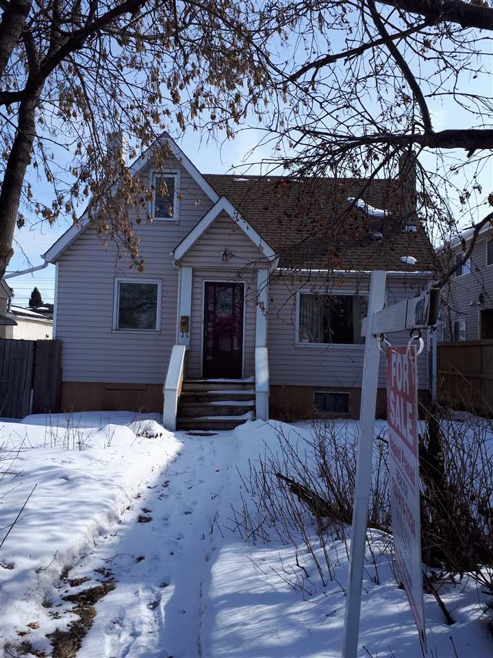 This 3 bedroom 2 storey home needs some TLC. Large lot, double garage