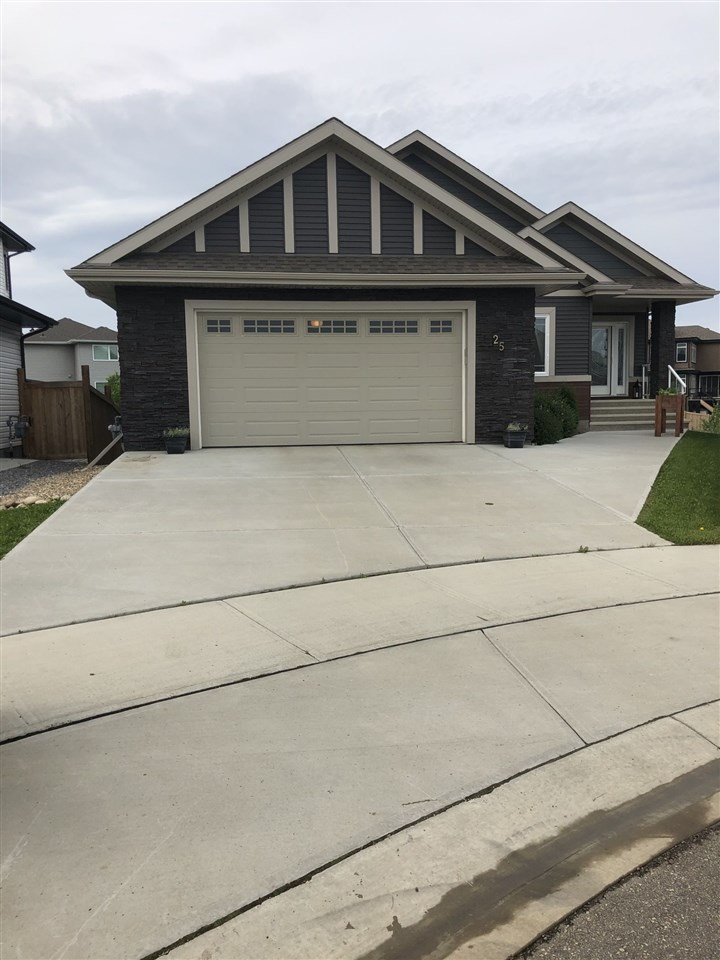 Welcome to this beautiful well maintained walkout bungalow in Beaumount Lakes!  This home has a great location in a cul-da-sac backing onto a green belt, walking trails and lake views. There is hardwood floors and ceramic tiles throughout the main floor. The large master bedroom has a 5 piece ensuite with a 3 sided fireplace as well as access to the patio. The large patio is enclosed which allows you to enjoy the beautiful view of the lake no matter the weather. The open concept kitchen, dining room and living room offers an abundance of light with the large windows across the back of the home. The kitchen has upgraded maple cupboards with granite countertops and backsplash. This corner lot offers a large space for your family to enjoy.