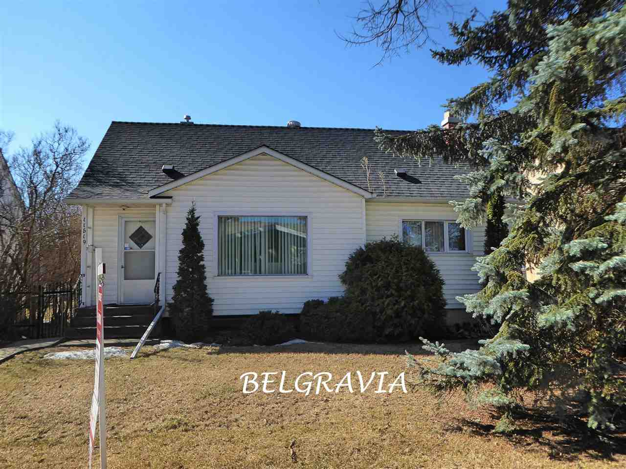 Welcome to  Mckernan/Belgravia and this immaculate 5 bedroom 1431 sqft spacious and bright family home where pride of ownership is evident.  Many upgrades include: newer carpets (2012), electrical service (2012), shingles (2016), bathrooms (2012) and sewer line (2014). Main floor features a huge front room currently a dining room, a cozy living room, the kitchen with attached south facing family room and breakfast nook and a main floor bedroom and 4-piece bathroom. Lovely hardwood floors adorn this level. The upper level has 2 more bedrooms and a convenient 2-piece bathroom. The lower level has a spacious recreation room, 2 more bedrooms, 3-piece bathroom and the laundry/mechanical room. The sunny south yard is fenced, landscaped and includes a 22 x26 double detached garage.  Found on a beautiful tree lined street in one of Edmonton premier communities, this 1431 square foot semi-bungalow is walking distance to the hospitals, the U of A , the LRT and a short commute to downtown. A must to View!!