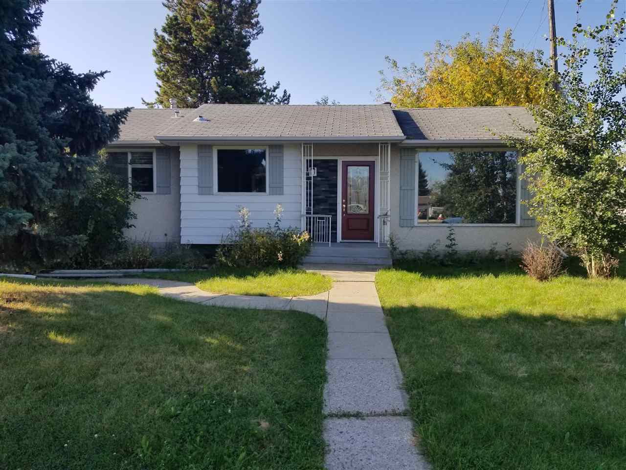 Great location on the bus route. close to schools and shopping. Home needs to be updated. Fireplace in the living room.