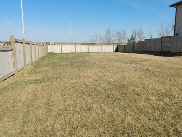 Super location! Corner lot at entrance to Beaverhill View Crescent subdivision on the north edge of the growing Town of Tofield. 53 ft wide lot will accommodate a great number of house plans. New houses surround. Fenced on two sides. Just a short walk to both of Tofield's schools and a few blocks from the Tofield Health Centre.  Lot measures 53 feet by 131 feet. Welcome to Tofield -- Welcome home!