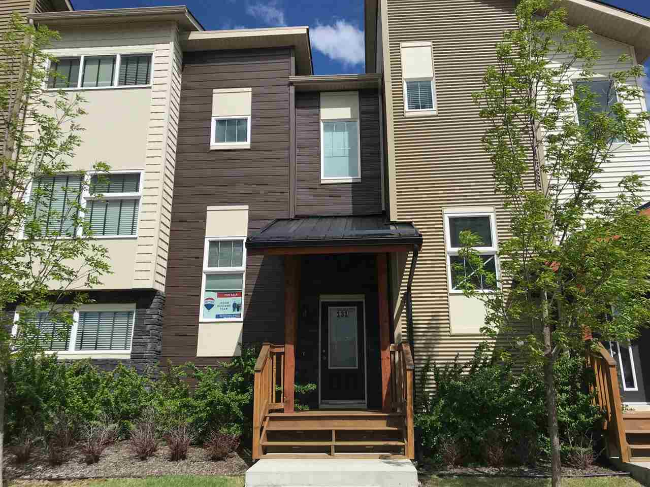 Take IMMEDIATE POSSESSION of this incredible 2 bedroom, 2 bathroom 810sqft  bi-level condo located in the Rushes of Southfork. Walking distance to parks, playgrounds, Father Leduc School (K-8) and public transit. Easy access to Hwy 2 & only 10min to airport, Costco and mall! West facing unit is a few short steps away from walking trails. Fresh appeal with bright white doors and trim throughout. Open main floor offers easy to maintain tile floors. Galley style kitchen has a huge window allowing lots of natural light to flow through, stainless steel appliances, trendy tile back splash, and plenty of cabinet and counter space. Enjoy a coffee while taking in the morning sun on your east facing balcony. Upper level offers master suite complete w/ceiling fan, private balcony, good sized 4pce ensuite & walk in closet. Well designed layout offers an ideal roommate set up with a 2nd master suite (also with walk in closet!) and huge 3pce bath located in lower level. Lots of storage space in laundry room.