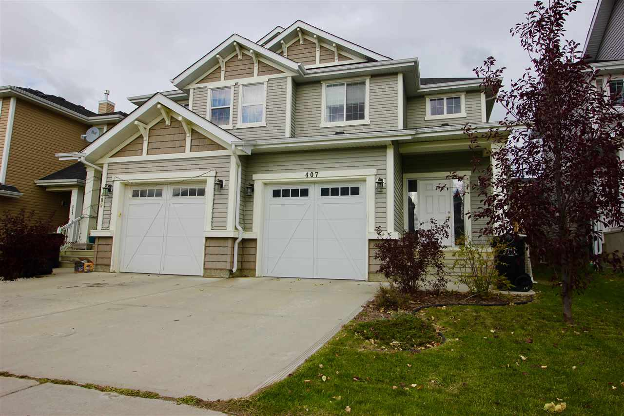 Located in the family friendly community of Southfork, Leduc this 1300+ sq ft home has lots to offer. Step up onto the wide concrete front step and into the spacious foyer with large front closet and then up a couple steps to the main floor open concept living area.With big bright windows and 9ft ceilings this area is bright and welcoming. The kitchen has an abundance of cupboard and counter space as well as a large island and stainless steel appliances. The adjoining nook has a sliding patio door to your deck and huge fenced in and landscaped back yard.Upstairs you fill find the master suite that will easily accommodate a king bed, walk in closet and 4 pc ensuite. There are 2 other good size bedrooms as well as the main bathroom completing this level. The basement is unspoiled with a great floor print awaiting your finishing touch. 11X24 single attached garage.