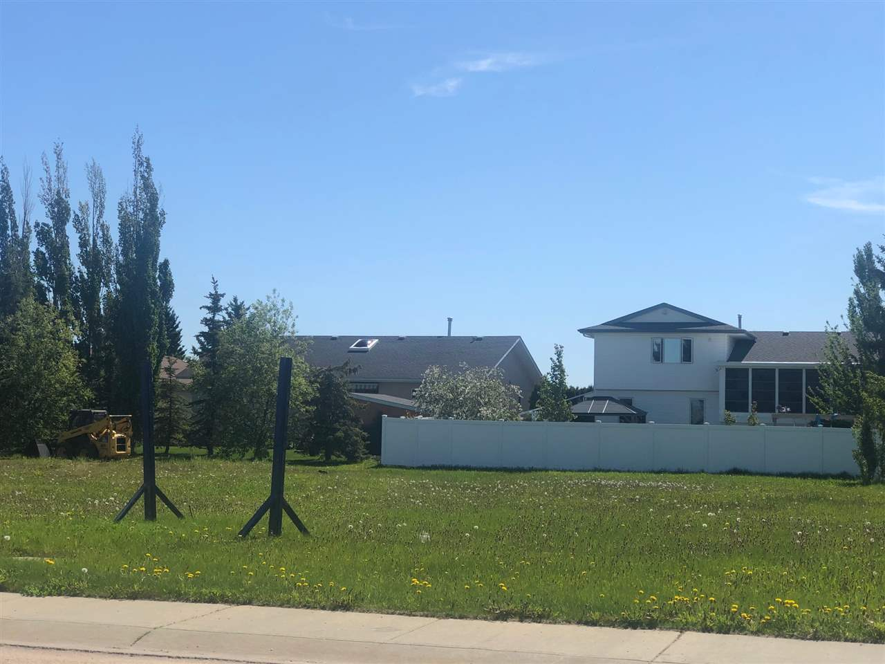Lot 23 is 8,150 sq ft  The average lot in Westlock is 6,000 sq ft so this lot is exceptional and priced to sell. Located at the north end of Westlock Elementary School on a quiet street. Walking distance to Apollo Restaurant and convenience store. Priced to sell - act fast while the rates are so low!!