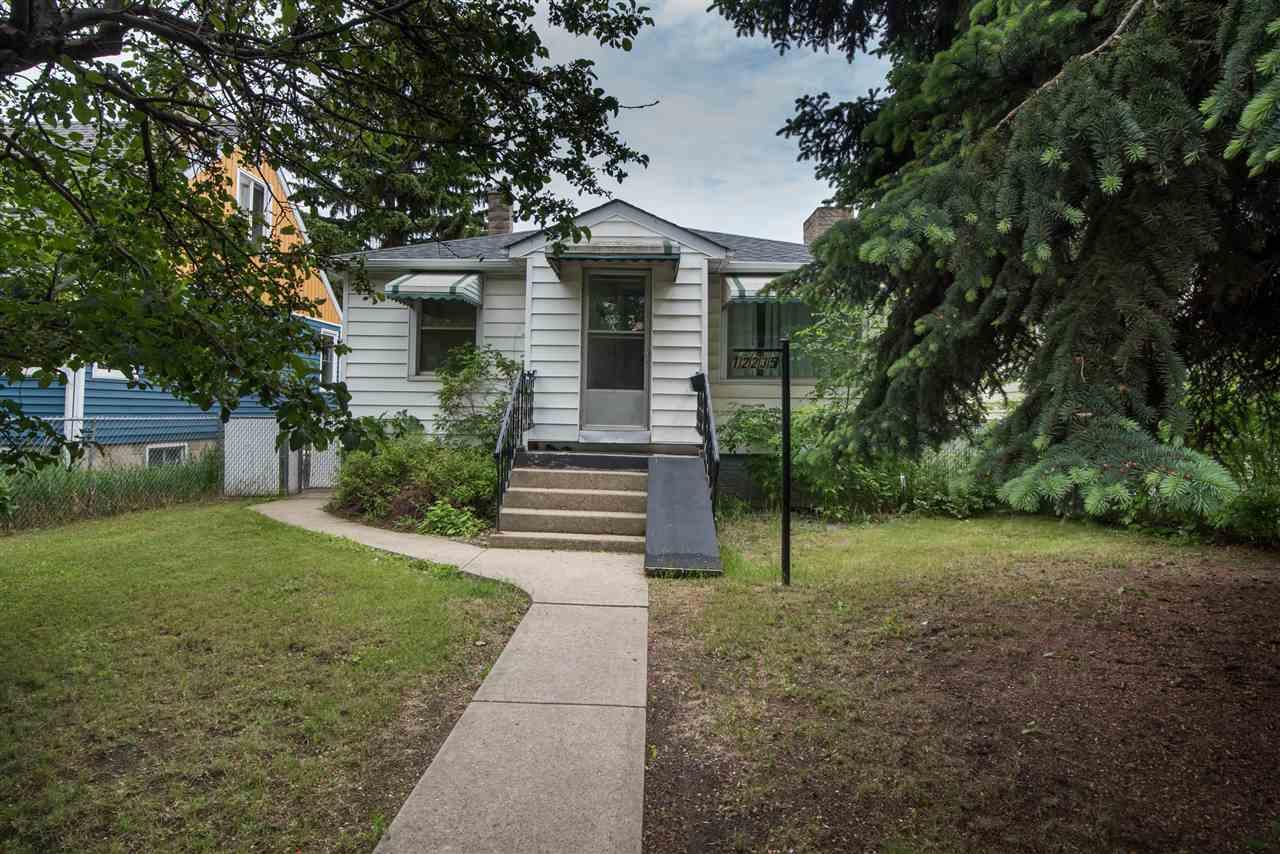 Investors do not pass this up! This house is a cash positive rental property in beautiful Westwood neighbourhood. 2 bedroom, 4 piece bath, $1100 rental income on main floor unit. Lower unit is LEGAL SECONDARY SUITE, 1 bedroom, 3 piece bath, $700 rental income. TENANT WANTS TO STAY. This means you have cash coming in with the option to plan future developments on the property. Improvements from the City of Edmonton include new sidewalks and pavement. There is a new spray park, playground and picnic sites at the Westwood Community League a block away. It is walking distance to the Vanguard College, NAIT Campus, Kingsway Mall, the LRT system, Royal Alexandra Hospital and great access to the bussing routes. There are significant upgrades; high efficiency furnace, power vented hot water tank and newer shingles. Newer kitchens, flooring, bathrooms, all in 2014. Shared laundry, large fenced yard, single detached garage. Excellent neighbours, mature landscaping line the quiet streets, and the list goes on.