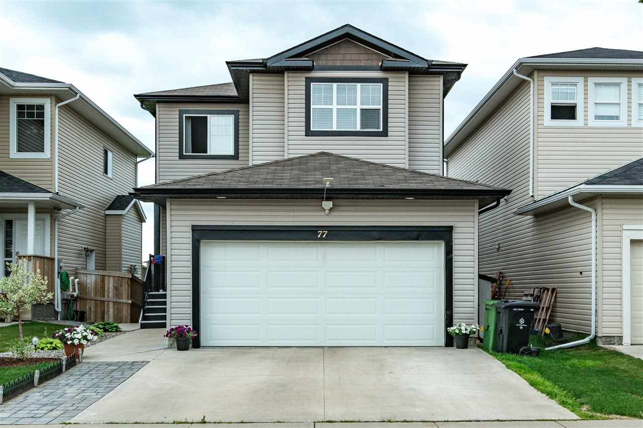 An impressive 3 + 1 fully finished 2 storey walk out located in South Fort. This home has it all! From an open floor plan design, bright south facing windows, granite counter tops throughout, gas fireplace, main floor laundry, a flex room, and a 2 pce bathroom occupies the main floor. The upper level offers a spacious bonus room, master bedroom with a walk in closet and a  spa like en suite. Bedrooms 2 & 3 and a 4 pce. bath. A professionally developed in law suite occupies the lower level. Which contains  separate laundry, 4 pce bathroom along with a bright and spacious great room. The kitchen mirrors the same professional quality found upstairs with high end cabinetry and stainless steel appliances. From the upper balcony or lower level patio you will enjoy the beautiful manicured yard looking onto the open green space beyond. To finish this immaculate home is central A/C, heated garage with storage and Polyaspartic flooring. YOU WON'T BE DISAPPOINTED!