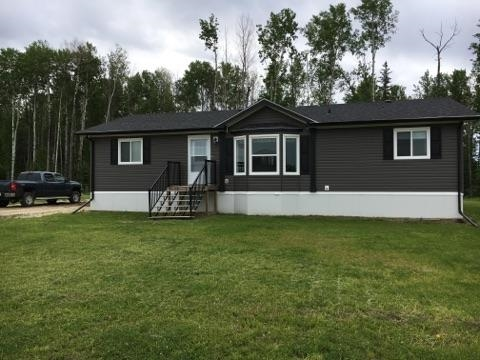 Fantastic 1508 Sq Ft 3 bedroom home on a .41 acre lot baacking green space in a Quiet Crescent in Wabasca-Desmaris. This great home is in great condition, 4 appliances and ready to move into.  Affordable comfortable living cheaper than renting