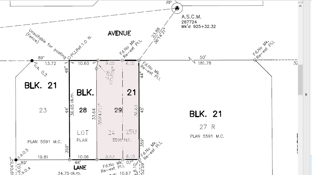 Build your dream home in Malmo Plains! Located in a prime location on a gorgeous mature large 49 x 117 (15.10 x 35.9) , INFILL lot. It is ready for immediate development. Original lot was subdivided into two. Great potential with this side by side land sale.( 11607-48 Ave next door for sale as well for $275,000.00 or both lots for $590,000.00.)