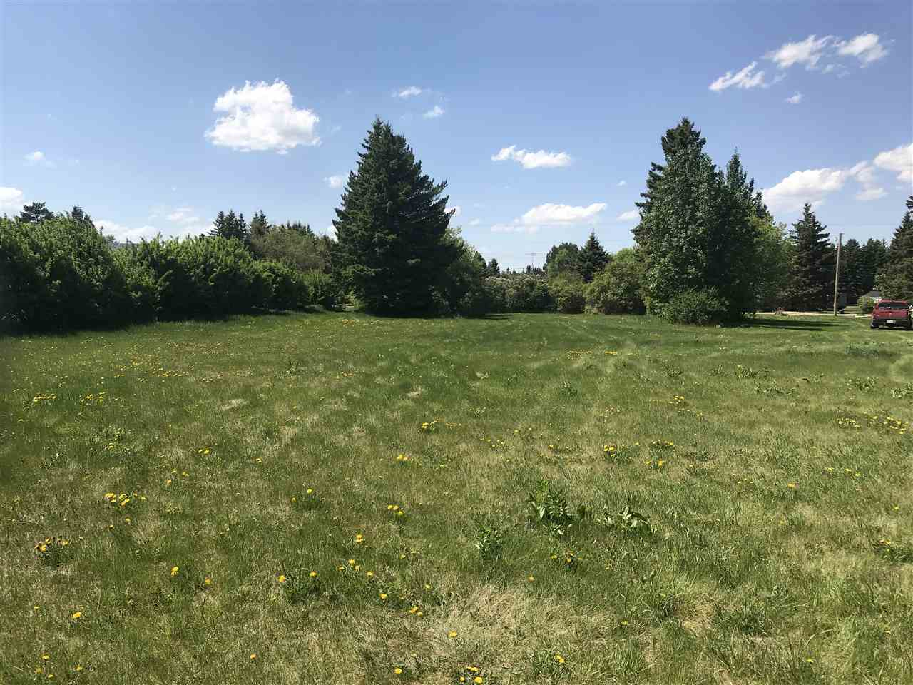 Large prime residential lot located on HWY 855 and 49 ave in the town of Andrew. This lot is comprised approximately 1.06 acres and is priced right!