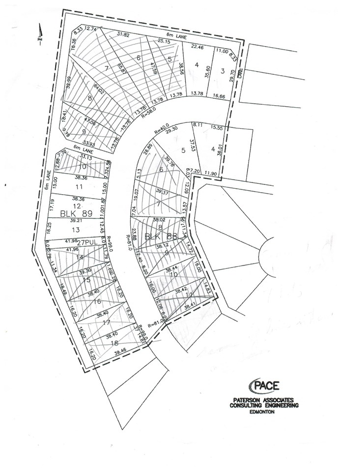 Build your new home in this quite well established neighborhood; within walking distance to Wetaskiwin Hospital and the new Alzheimer Centre Point West; good access to downtown and highway; perfect location, backing onto green space; just steps to access the vast walking and biking trail system in Wetaskiwin. Most affordable lot in this neighbourhood.