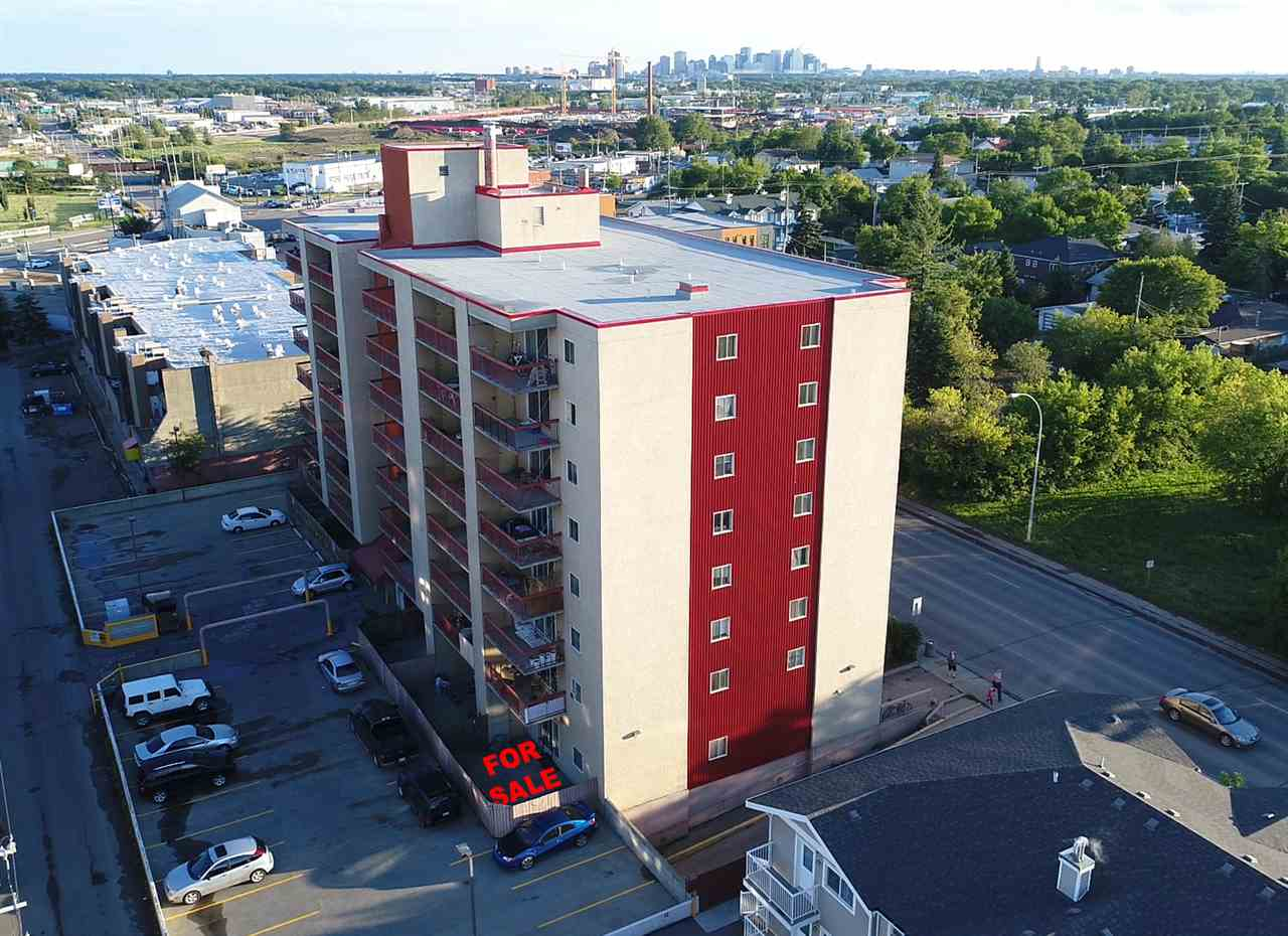 Conveniently Close to Mass Transit, St Francis of Assisi Elementary School, and the New Kathleen Andrews Transit Garage. This Secure Concrete High Rise Building sits in the Heart of the North East with quick access to Yellowhead Trail, 66 St, Fort Road, Wayne Gretzky Drive, Capilano, and Manning Freeway. Future Owners Have the Option to Lease an Above Ground or Underground Parking Stalls.