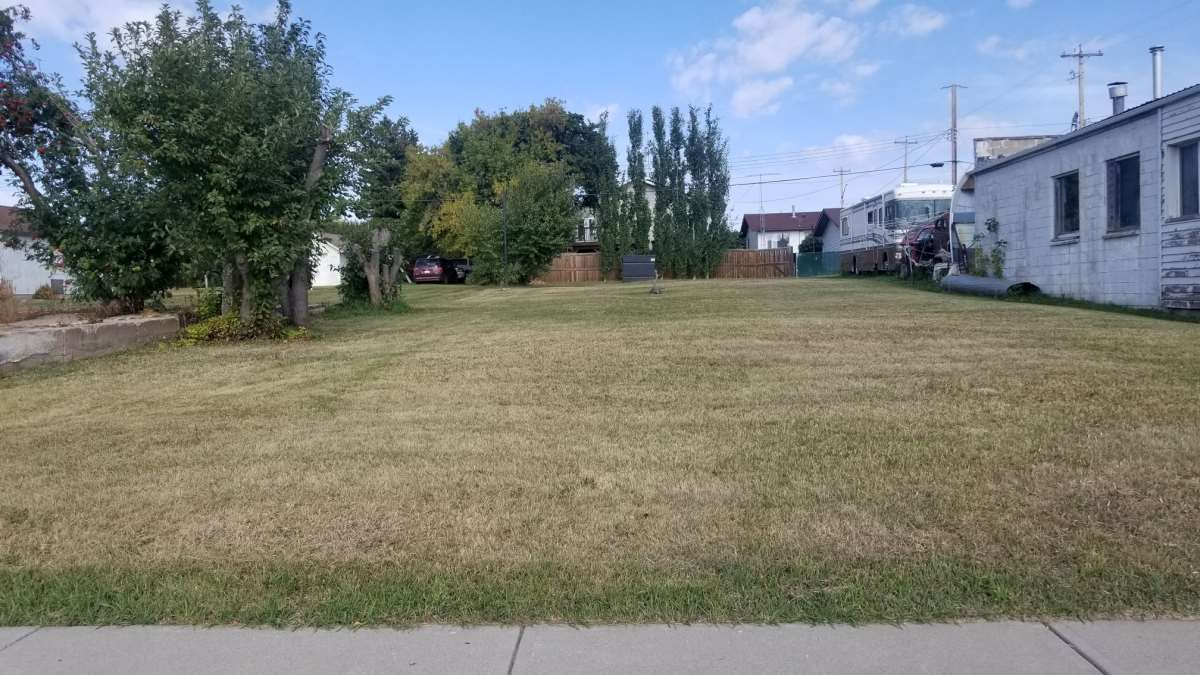 50' x 140' vacant lot in the charming community of Holden! Back alley access! Lot is serviced with water and sewer. Power and gas at the property line. Excellent Location- walking distance to park and downtown amenities. A must see!!!