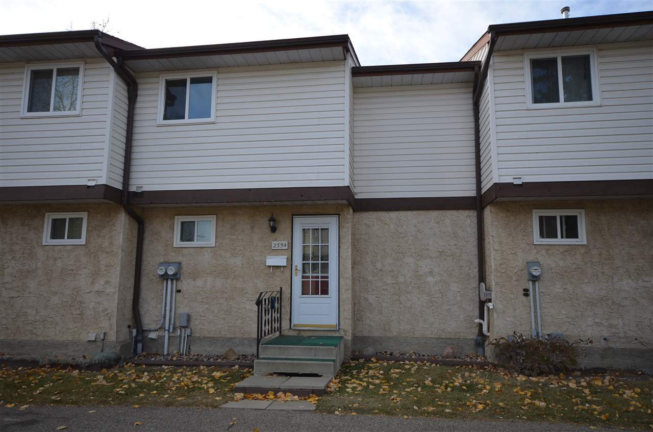 Beautiful 3 bedroom, 1.5 bath, 1035 sq ft, 2 storey townhouse condo in family community of Bannerman. The kitchen offers dark cabinetry, plenty of counter tops, decorative back splash, & stainless steel appliances including microwave hood fan. Dining room is large enough for entire family with newer patio door to the fully fence patio area perfect for children or pets while the living room is a decent size. 2 piece bathroom just off main entry finishes this level. Upstairs is good size master bedroom with plenty of closet space, 2 more bedrooms and main bathroom. Fully finished downstairs has ?L? shaped family room, a perfect playroom for little people! There is also a utility room for laundry & main storage plus secret storage area by lifting hinged bottom staircase. Features are low condo fees of $225 per month, close to all shopping, public transit, Bannerman elementary school & parks. If you are starting your journey onto home ownership, you should rank this family home number 1 on your must see list!