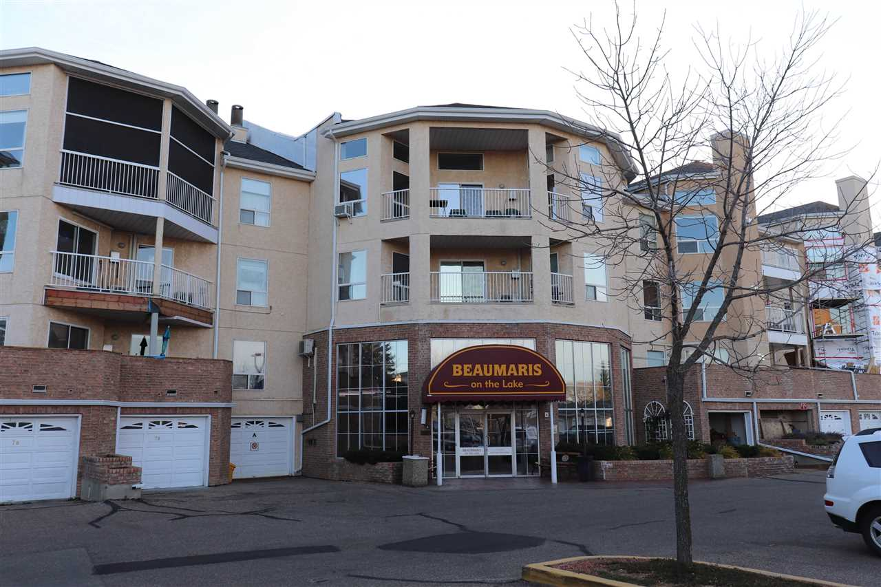 This building is located in the sought after community of Castledowns, this project backs onto the lake and is perfect for nice walks in the summer. In the winter the building has many amenities such as gym, games room, and pool.  The unit itself is bright and cozy one bedroom, two-bathroom apartment has everything you will need. Nice spacious open concept with the kitchen, dining room and living room. Just off the kitchen you will also find the convenient laundry room. Enjoy the winter months snuggled up in front the fireplace and the warmer months on your beautiful balcony with lots of room for plants and a barbeque. The perfectly sized master suit includes a bathroom and walk in closet. What more do you need?