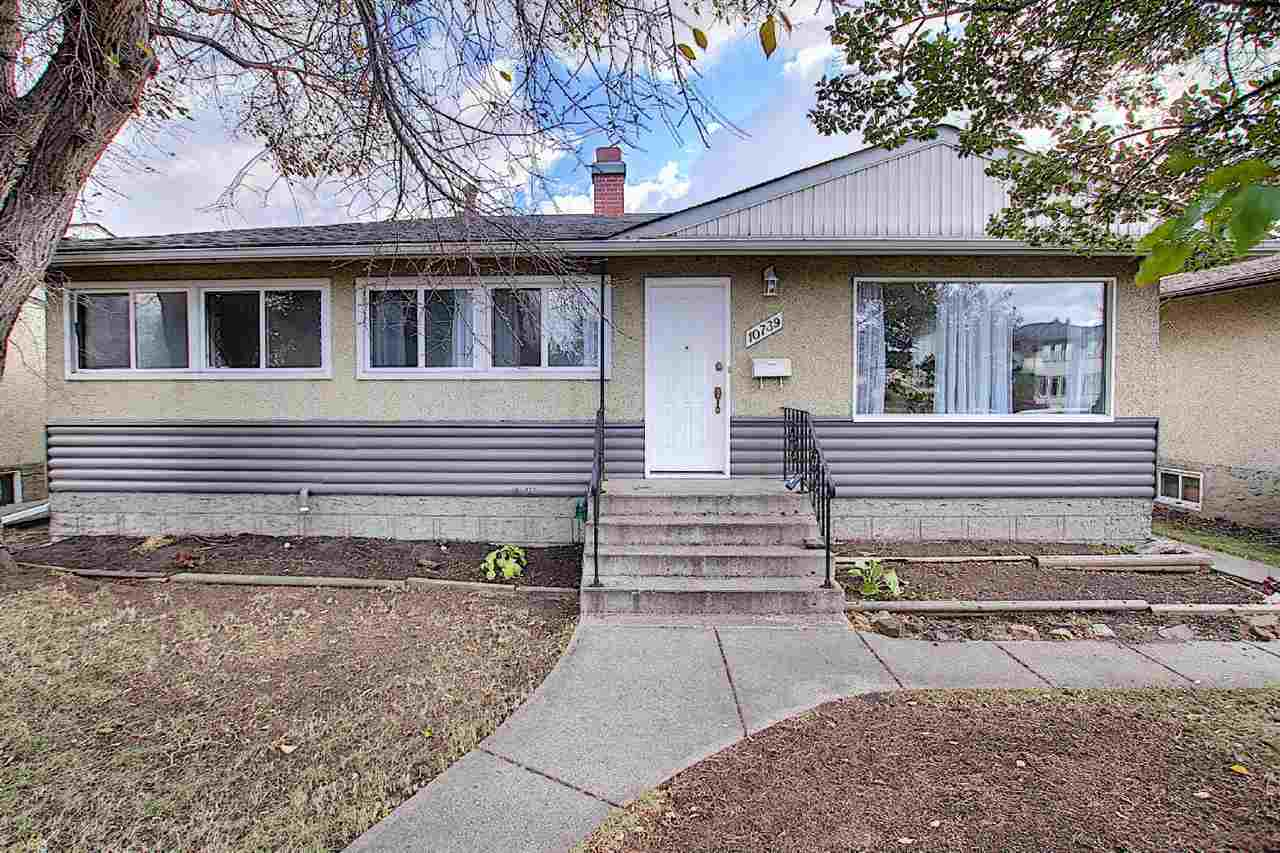 Absolutely immaculate 3 bbrm bungalow, 1000 sq ft.  Upgrades include: shingles on roof and garage, windows on main level, eavestroughs, painted throughout, hardwood floors refinished, baseboards, 100 amp panel and meter( Oct 14/20). Fully finished bsmnt,  3 pce  bath with modern shower, rec room ,very large bedroom( was two bedrooms before). Laundry and storage room. Garage is oversized single, could easily be converted to a double.  Great location in much sought after McQueen. A short 10 min walk to some of the best schools in the City, K-12. Newly built Christian  Charter School , also Archbishop Mac and Ross Sheppard. McQueen is an active community, tennis, basketball courts, ice rink. One block to bus. Priced very well!!  A must to  view!!