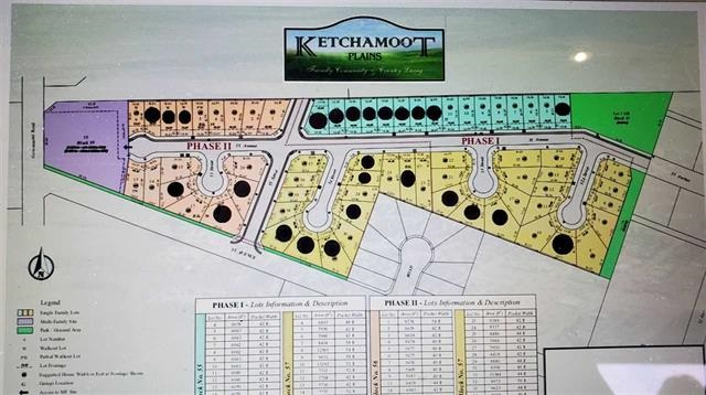 Vacant lot in Ketchamoot Plain in Tofield. 42 ft pocket width. Unobstructed view of the countryside! Several lots to choose from. Price includes GST. A must see !!!
