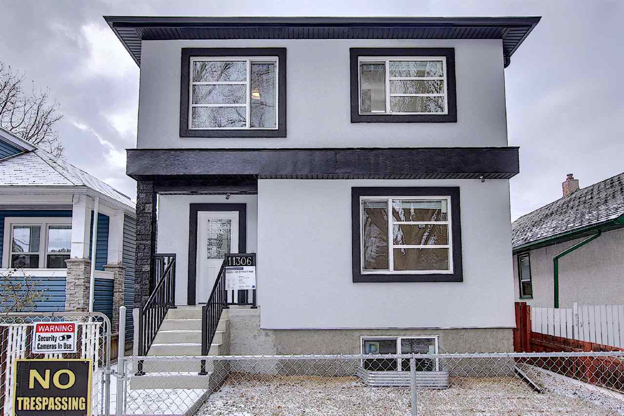 GREAT Opportunity to own this Brand New/Immaculate 6 Bedrooms/2 storey home with a LEGAL BASEMENT SUITE! Perfect to invest as an INCOME PROPERTY or live on main floor & get RENTAL INCOME in the Basement! Modern open-concept floor plan offers Living rm with Cozy Fireplace/Large Window/9 ft Ceilings/Stunning floorings. Spacious Kitchen boasts High Quality Cabinetry/Backsplash Tile/Quartz Counters/Oversized Kitchen Island/Pantry. Dining area boasts Patio door to rear Deck & Fenced Yard. Main floor Bedroom & 4pc Bathroom. Upper level offers 3 Sizable Bedrooms, Laundry rm & full Bathroom. Master Bedroom has Walk-in Closet & 5-piece En-suite incl Quartz Counter, Double Sinks & Jacuzzi. Separate Entrance to FULLY FINISHED LEGAL BASEMENT SUITE comes w 2 Bedrooms/Den/Kitchen/2 Bathrooms/Laundry area. Suite has separate Meters for Gas/Power & Water. Double Garage w back lane access. Lot size: 33x120. Easy access to Public transp/LRT/Downtown/NAIT/School/Shopping C & all amenities. Quick possession avail. Shows 10+!