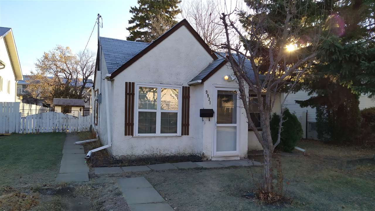"Investor Alert: Welcome to Glenwood ""sold as is where is"". lot size 573 sq m. house is livable with 2 bedrooms and a bath. GLENWOOD IS MATURE FAMILY ORIENTED COMMUNITY WITH SCHOOLS, SHOPPING NEARBY, TRANSPORTATION AND MANY PARKS WITH PLAYGROUNDS AND COMMUNITY LEAGUE. QUICK access to downtown to WEM, Anthony Henday, Public transportation and 1 block to future West LRT line, to be complete in 2027. Great investment"