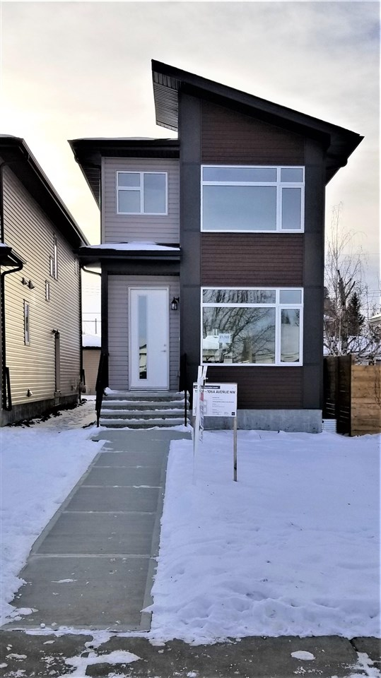 **WELCOME HOME** Fantastic opportunity to live in a brand new Custom Built home in a mature west central neighbourhood. 3 Bedroom, 2 1/2 baths, all with a high level finishing package. You will love the open plan, 9ft Main floor Ceilings, Island Kitchen  with quartz counter tops. Oversized windows. Fabulous Ensuite Bath with double vanity and large shower. Second floor Laundry.  Quiet crescent location, south facing backyard with a full double garage. Large deck and a separate side entry for future basement or suite development. Build your own basement or seller will assist in a suite as an option. Only steps away you will find Fred Broadstock outdoor Pool / leisure center. You will also find Britannia school, Shopping, community parks and more. The area offers almost everything you could ask for in 5 or 10 min walk. A great walkable community awaits you. Transit, Schools, Shopping, Recreation are all here now. Now fully completed Quick possession available. Great Appliance package Included.