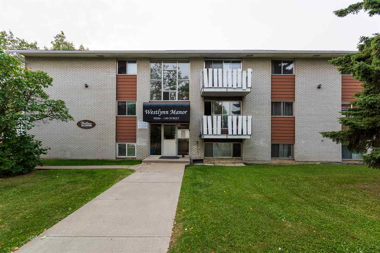 Investor's or first time buyer's alert!!! This rare renovated 3 bedroom condo unit is conveniently located at the great west end community of Jasper Place and is one of the largest unit in the building. The galley style kitchen has good countertop space and ample cabinetry with a good size dining area adjacent. The large living room completes with big patio doors letting the natural light pour in and fill the space. Master bedroom is very unique offering its own vanity complete with sink, mirrors and cabinets for storage. two other bedrooms are great for growing family. 4PC Bathroom was fully renovated as well. Super convenient location, easy access to West Edmonton Mall,  downtown, Whitemud and the U of A. Don't miss out.