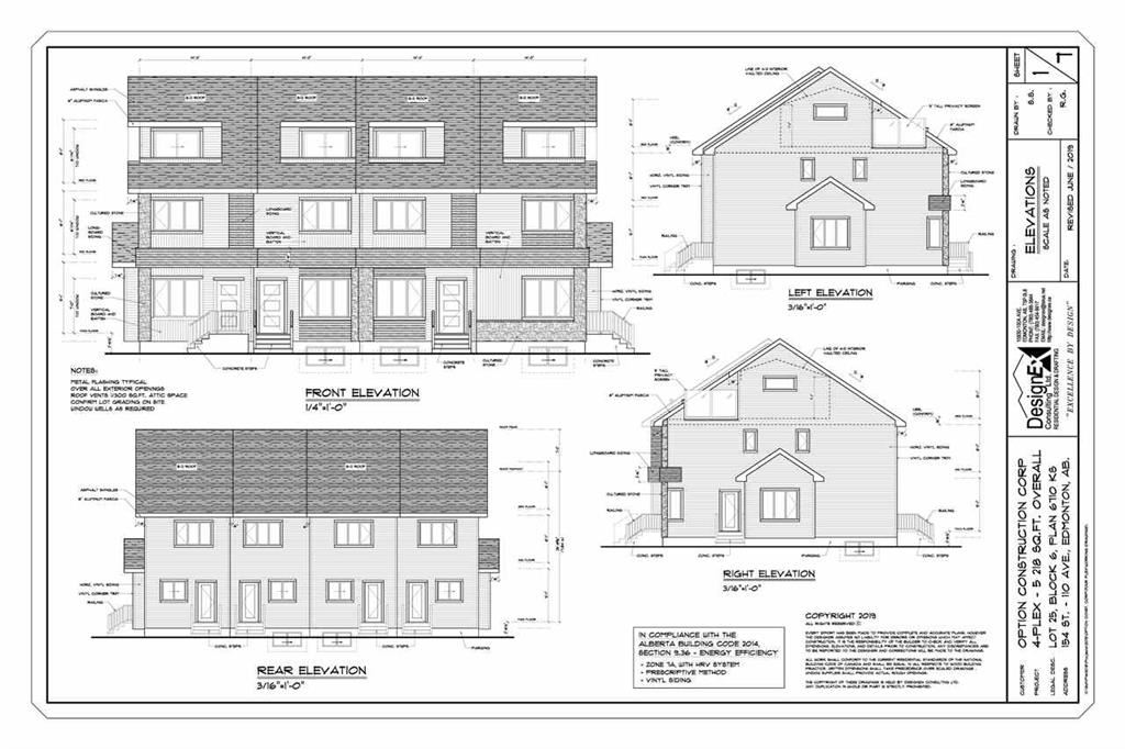 REZONED WITH APPROVED 4 PLEX PLANS! DON'T MISS THIS PHENOMENAL OPPORTUNITY! PROPERTY IS BEING SOLD AS IS WHERE IS. NO WARRANTIES OR REPRESENTATIONS. LOT VALUE + REZONING & PLANS.