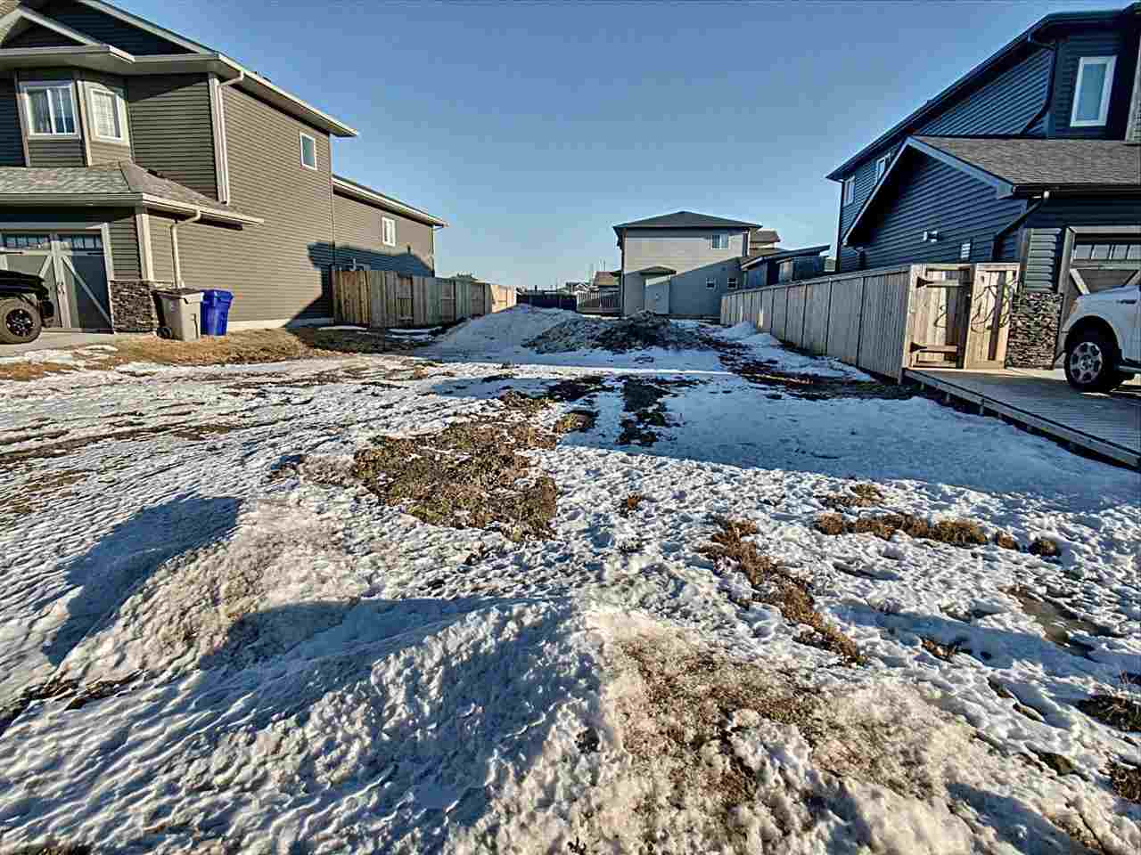 Lot 22.  Fully serviced lot available to build your dream home in a new neighborhood (West Woodlands) in family friendly Bruderheim, just 35 minutes from Edmonton and less than 15 minutes from the oil & gas plants in Fort Saskatchewan!  This quiet cul-de-sac lot has a 32 ft building pocket with 42 ft frontage and 114 ft lot depth (4836 sq ft) and both side neighbours already have side fences up so only the back needs to be fenced. Great location close to the town sports fields, campground, and brand new skate park. Tremendous small community for young families with a great K-9 school and several employment opportunities in the area. Architectural guidelines, geotechnical reports, land use district, subdivision plan, and engineering package is available and included with the lot.