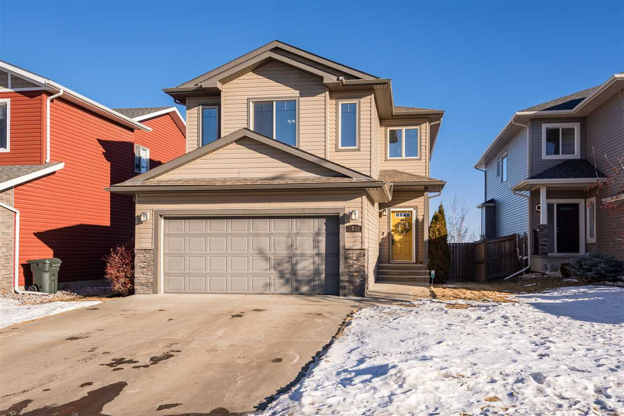 This move in ready two storey home in Hilldowns is immaculate. It offers 2500sqft of living space, 4 bedrooms, 4 bathrooms, 3 living area, large fully fenced yard, A/C, and double attached garage. Smart design and layout with main floor mudroom with laundry, 2pc powder room, open concept great room with spacious kitchen with corner pantry, high end stainless appliances, granite counters, large island with eating bar. A dining room with patio doors that open to the deck and lastly the living space with gas fireplace. On the upper level is a exceptional bonus room with soaring ceilings separate from the bedrooms. An excellent sized primary bedroom comes with a W/I closet and ensuite, 2 secondary bedrooms and 4pce bath complete the upper level. The basement is fully finished with a family room, bedroom and 3pc bath.