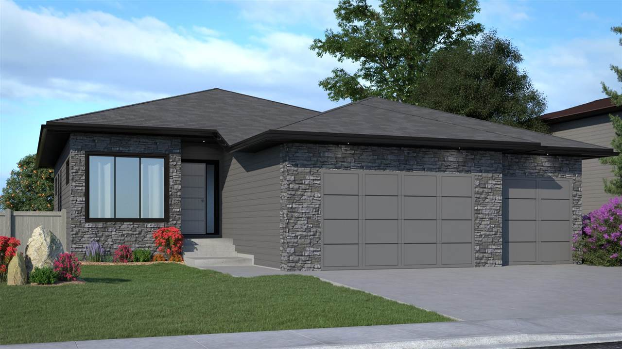 Build your dream home! Pre-selling 1,625 sq. ft. bungalow with 1,063 sq. ft. developed basement. 3 bedrooms + Den, 2.5 baths, oversize triple car garage with shop/storage area, covered Duradek/metal spindles & rails. Customize your plan, colours & finishes. 50' building pocket lot in Estates of Trumpeter, steps from ravine/park, walking trails & pond. Open concept main fl features 11' ceiling in foyer & great room, 9' ceilings remainder of main level & basement. Energy efficient home/EnerGuide Label. HRV high efficiency furnace, triple pane casement windows, LED pot lights. Quartz countertops, solid maple cabinets, vinyl plank/carpet/ tile. Kitchen with centre island, generous eating nook, walk thru pantry, mud room, laundry, powder room, main floor Den. Master suite with walk in closet & 5 piece ensuite/tile shower with 10mil glass. Basement features large rec room, 2 good size bedrooms & 4 piece bath. Pre-sale/a 2 storey home could be built if buyer wishes. Fekete Homes-Building Better Homes since 1930.