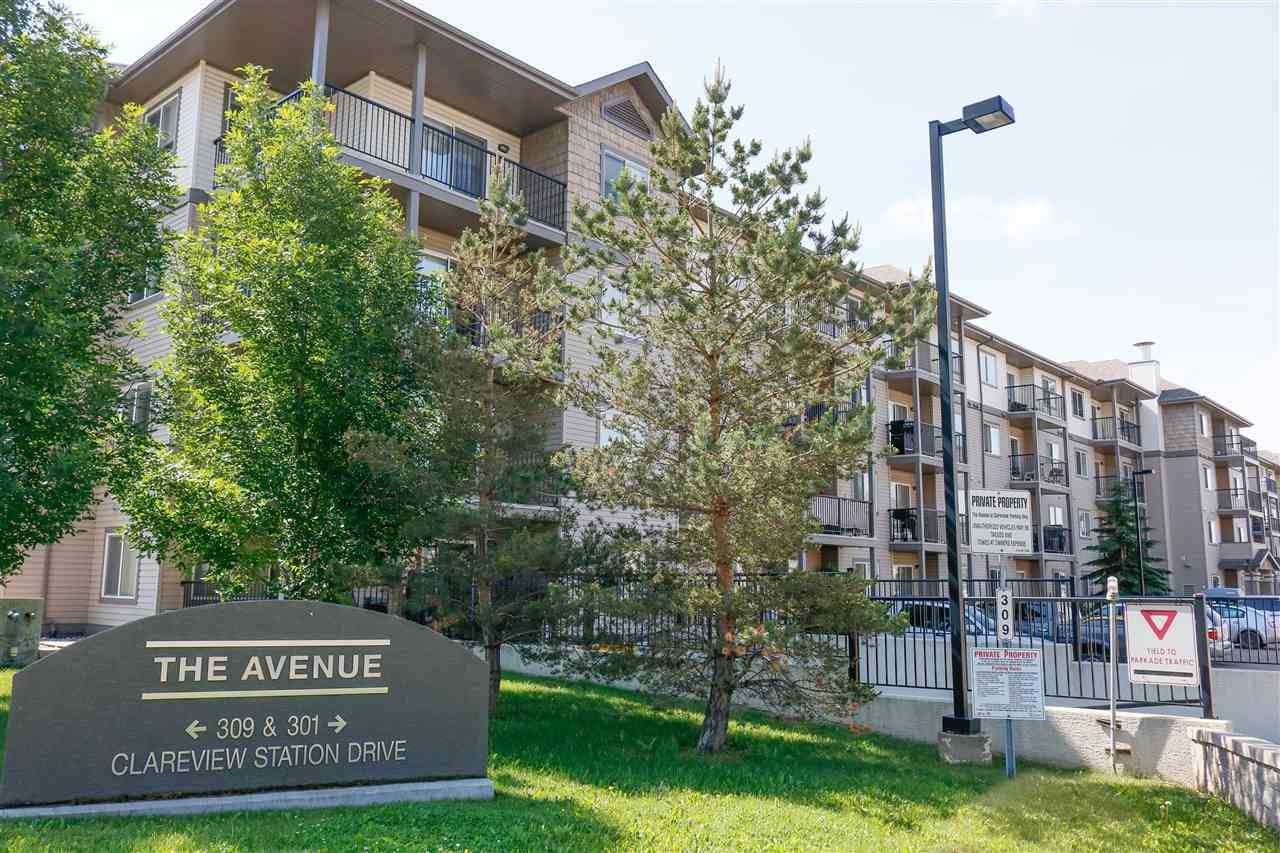 INVESTOR/FIRST TIME BUYER ALERT!!...GREAT VALUE, Exceptionally CLEAN and WELL MAINTAINED. This unit will impress with its open floor plan, spacious kitchen, HEATED UNDERGROUND PARKING STALL(#100) and plenty of convenient visitor parking outside main door. Other highlights include in-suite washer/dryer and large west facing balcony with BBQ gas hook up. This bright and cozy suite is located just steps from the LRT/bus station, walking distance to Wal-Mart, Superstore and many other shopping/restaurant/amenities. This is a great place for working professionals, students and, with its easy access to Manning Freeway/Anthony Henday, it's an excellent investment opportunity...REWARD YOURSELF TODAY!