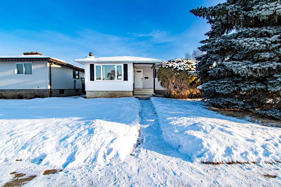 GREAT INVESTMENT OPPORTUNITY! in SE Edmonton! Live in a beautiful 1215 sq ft Richfield Bungalow in Mill Woods with LEGAL SUITE so your tenants can help pay down your mortgage or rent both suites for cashflow.  $20,000 IN RENOS, just completed (including upgrades to the roof) makes this an ideal turnkey home. Bright, open main floor Kitchen space w/new contemporary laminate flooring. The 3 Bedrooms upstairs & Living Room have rich toned hardwood. 1.5 Baths including the Master Bedroom Ensuite. Separate entrance into Basement suite & separate laundry. Fully renovated basement suite has a full Kitchen, 3 Bedrooms, 4piece Bathroom, Living Room & Large storage space. Fully Fenced yard, Double Detached Garage with heater. Quiet neighborhood close to the Whitemud & Henday as well as shopping, schools and Grey Nuns hospital. An attractive property, especially for young families and professionals, or an excellent addition to the portfolio. Check it out. It will go fast!