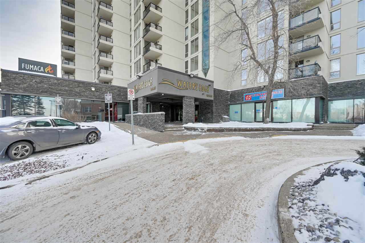 Located on the very desirable Saskatchewan Drive in the heart of OLD STRATHCONA, is this fantastic 2 BEDROOM/2 FULL BATH condo that is priced to sell. This unit provides unparalleled value for a concrete hi-rise building with EXPANSIVE SOUTH FACING VIEWS of WHYTE AVE, and access to the RIVER VALLEY and all that it offers in just mere steps. Unit offers an open floor and bedrooms on opposite sides of the unit which allows for maximum privacy. The living room is large and offers gorgeous south views through the oversized windows letting in an abundance of NATURAL LIGHT into the space. Additional features include a healthy amount of IN-SUITE storage, tonnes of visitor parking, LAUNDRY ROOM that is located extremely close to the unit for added convenience, and LARGE SOUTH FACING BALCONY great for enjoying a morning coffee or evening glass of wine. Building amenities including weight room/gym, squash, tennis, and basketball court. Close to WHYTE AVE, FARMERS MARKET, U of A HOSP/CAMPUS, and KINSMEN CENTRE.