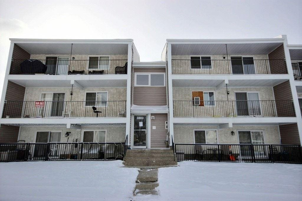 Excellent investment opportunity near new Valley Line LRT! Bright and spacious top floor 2 bedroom and 1 bathroom condo with plenty of natural light. The large open living and dining space and bedrooms have newer laminate flooring throughout. Updated lighting includes ceiling fans in the dining room and bedrooms. Plentiful storage includes a pantry, storage room, closets, and in-suite laundry room. The patio makes a great space for a BBQ or outdoor lounge area. Unit comes with 2 outdoor assigned parking stalls. The condo complex has plenty of visitor parking and a community hall for common use. Great proximity to shopping, parks, schools, hospital and other amenities. Located near the new Valley Line LRT currently under construction, with easy access to the Whitemud Drive and Anthony Henday Drive. This no smoking and no pet home is available for immediate possession!