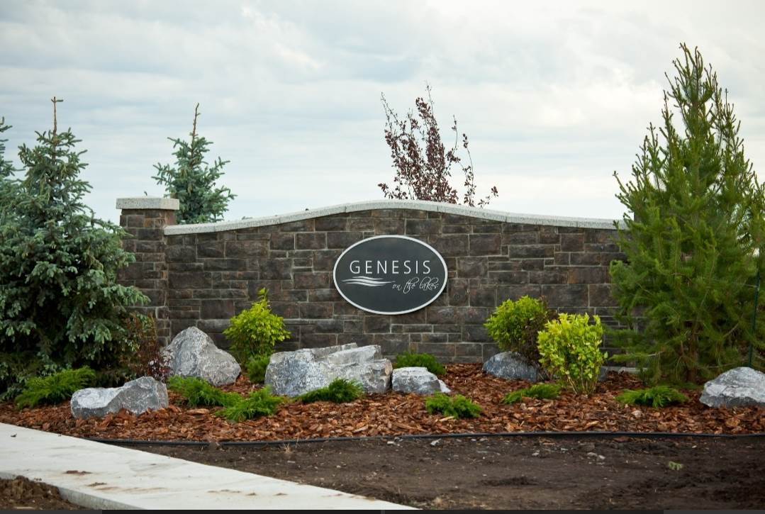 Welcome to the prestigious Genesis On The Lake situated in the beautiful family community of Stony Plain! Build your forever dream home on this gorgeous 20,380 Sq Ft corner lot featuring a stunning view of the lake surrounded by beautiful trees. Genesis On The Lake focuses on serenity, offering a 7 acre lake with beautiful green space including two ponds and beautiful treed walking trails. This subdivision also offers great amenities such as state of the art car wash, gas station, spa, restaurant ,convenience store and conveniently located 20 min west of Edmonton and to all other major amenities in Stony Plain. Genesis On The Lake is architecturally controlled and select approved builders are available. This is an opportunity of a life time to to build and be part of Genesis On The Lake. Must See!!
