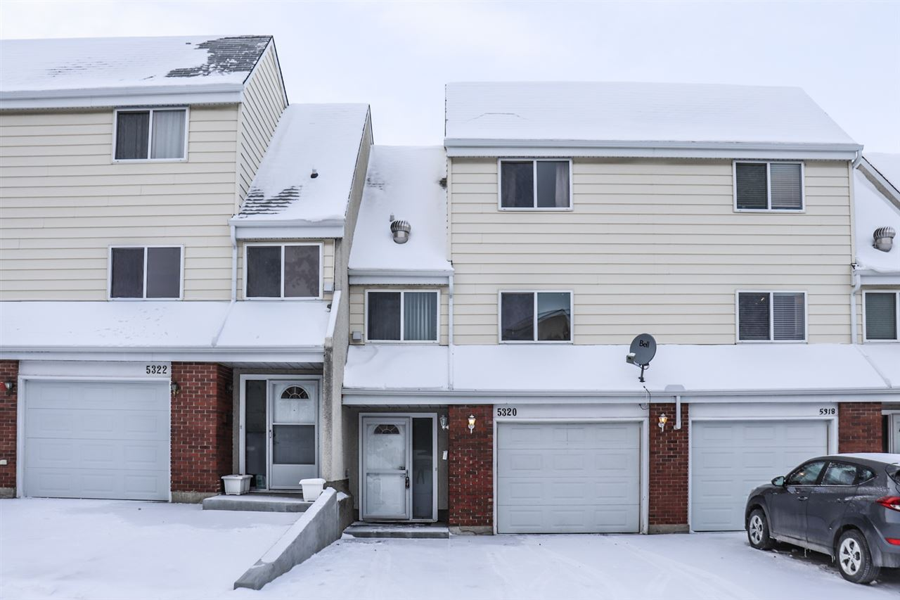 This spacious 4 bedroom town home in Casselman has so much to offer!  Featuring a bright and open floor plan which has been nicely renovated throughout with many upgrades.  The kitchen has quality stainless steel appliances, plenty of oak cabinetry and lots of counterspace and leads through to a convenient laundry area.  There is a separate dining area which overlooks the cozy living room with high ceilings and large patio doors leading to a sunny west facing back yard.  The upper three bedrooms are a generous size with a modern 4 piece bathroom.  The developed basement has another bedroom, plenty of space and extra storage.  The well maintained exterior has an over-sized single garage and fenced yard with lots of mature trees creating privacy.  With low condo fees and nicely located close to major shopping and the Anthony Henday ? this affordable family home is terrific value.  Take a look?.