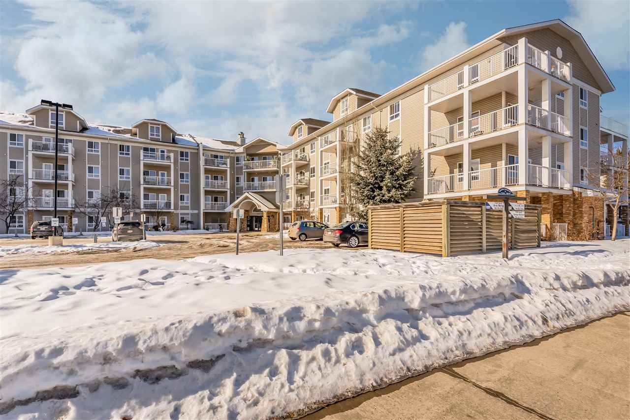Great opportunity!!! Condo located on the second floor. Bright open concept, two bedroom two bathroom , laundry In-suit. Beautiful balcony facing south. Close to the schools, daycares, churches. Hampton Plaza -grocery stores, banks and close to the Costco. Bus transportation and school busses are across the street. Access to Whitemud and Anthony Hendy.