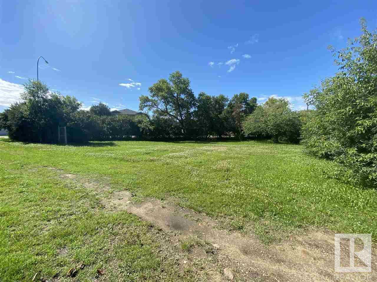 PRICED TO SELL!!   Fully Serviced Large corner lot with Hiway access!!  Hiways side of property is heavily treed with chain link fence for privacy.  Potential for Multi-family development.  All sorts of possibilties with this one!