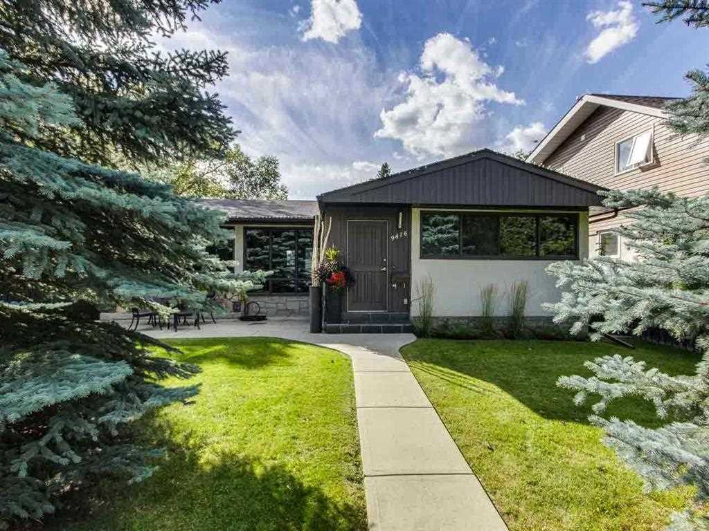 Prestigious location in the desired community of CRESTWOOD just steps to the MACKENZIE RAVINE ? RARE OPPORTUNITY - HUGE LOT 50 x 160 ? 7986 SQFT ? WEST FACING BACKYARD! This executive style bungalow has 1267sqft plus finished basement totaling just over 2534sqft of finished living space ? 3 plus 1 bedrooms, 2 full bathrooms, double detached garage. Outside enjoy the fully landscaped private backyard! Walking distance to the river valley, top rated schools, cafes, shopping & more! MOVE IN & enjoy or THE PERFECT RENTAL PROPERTY UNTIL YOU BUILD YOUR DREAM HOME.