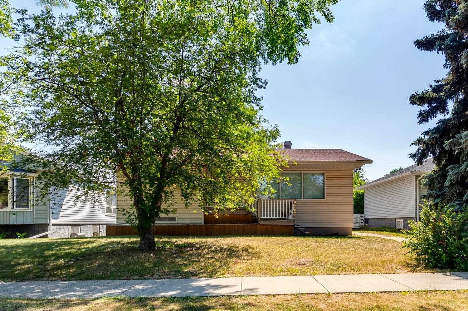 Welcome to Crestwood!  Are you looking for a building lot or renovation project?  This home is located on one of the best streets in Crestwood!  Just steps to the river valley ? this 1105sqft bungalow has 2 bedrooms & 1 bathroom & is located on a 6751sqft Lot - 52ft x 130ft ? the perfect size for building!  Crestwood is bordered on the east by the river valley, on the north by the MacKinnon Ravine & on the south by the MacKenzie Ravine! Top Rated school, shopping, cafes, restaurants ? everything you are looking for in a mature community.