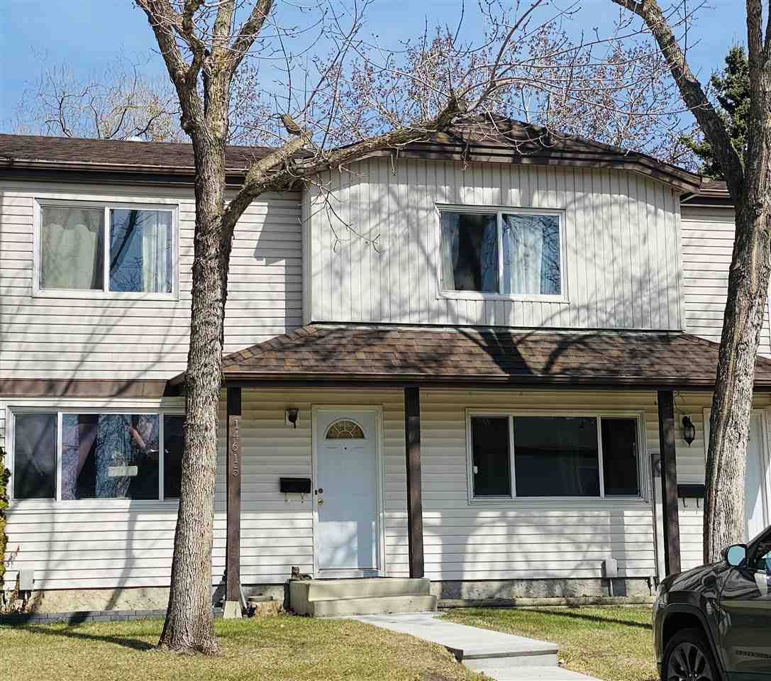 PRICED BELOW ASSESSED VALUE!!! BACKS ONTO A WALKING TRAIL & PARK!!!  FULLY FINISHED 3 Bedroom 1 1/2 Bath Townhouse with a NEWER KITCHEN in 2016 that's complimented with a Glass Backsplash plus its wired & plumbed for a dishwasher!  NEW WASHER AND DRYER Feb 2021, NEW SHINGLES on the complex 2019, NEWER Furnace, California Closet in the Primary Bedroom. This Townhouse is located close to Transit, Schools & Shopping. Great Location in the Complex with two individual parking stalls out front Visit REALTOR® website for additional information.