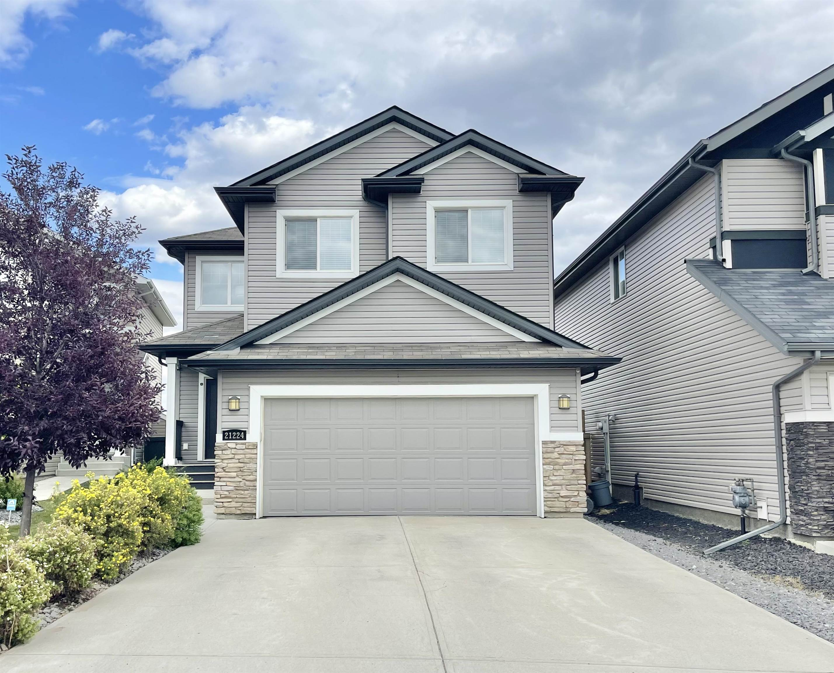 Welcome home to this 2189sf former show-home built by Looke Homes! Nestled in a quiet cul de sac & walking distance from the school, this home is the perfect fit for you & your family! The main flr has an open concept layout with tons of windows exuding tons of natural light. The family rm has a gas FP & is the spot to snuggle up and enjoy family movie nights. The kitchen has a massive island ideal for prep and for breakfast on the go! Ample amount of counter space, S/S appliances, & a huge walk thru pantry. The sunny dining area is perfect for family dinners & get togethers. The main flr is complete with the laundry rm, 2pce bathrm, & office. The upper level has a total of three bedrms incldg the masters suite fit for a KING & Queen w/a sitting area to enjoy your morning coffee, a 5pce bathrm with his/her sinks, tub, shower and WI closet. The upper level has a generous sized bonus room & a tech area ideal for a second office or kids homework space! This home has it all!
