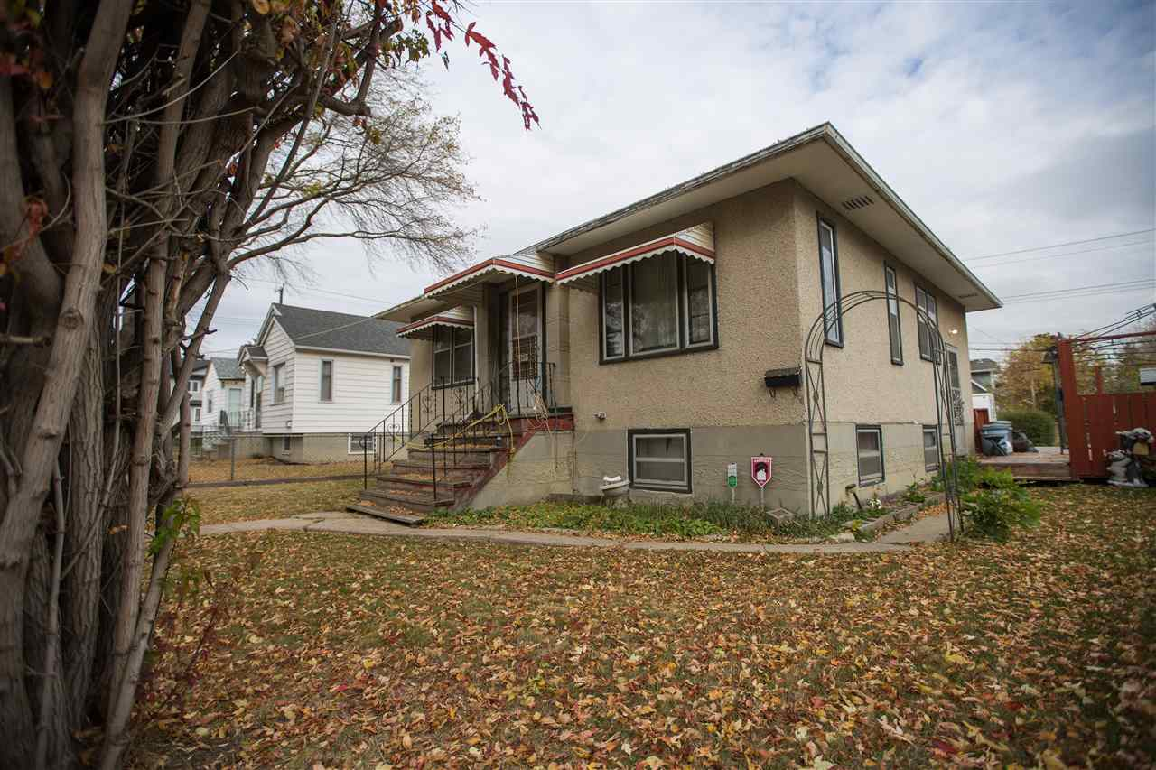 Excellent opportunity for investors, first time home buyers, developers, or someone looking for a way to add value to a purchase. 1950 2-1 bedroom 783 square foot bungalow on a 584m2 west facing lot. The main floor of the home has a nice eat-in kitchen with windows looking out over the back and side yards, large living room with fireplace mantle, four piece bathroom, and two bedrooms. The partially finished basement has a large third bedroom, family room, and a three piece bathroom that is waiting for you to finish the shower. Other features include much of the original 1950's character elements, newer shingles, large deck off the side of the house, huge fully fenced yard, and a single car garage plus extra parking. Zoned RF3 the 52.5'x119.9' lot gives you several options for redevelopment. Close to schools, Londonderry mall, public transportation, and has quick access to Fort Road, Manning, and the Yellowhead Trail.