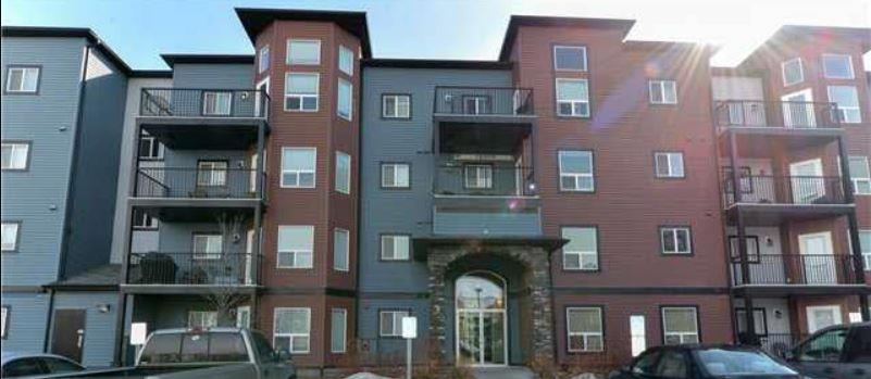Well Kept condo in Village On The Park! This exceptional 2 bedroom, 2 bathroom unit boasts stainless steel appliances, pantry, abundance of dark wood cabinets, eating bar, spacious bedrooms, huge shower in the en suite and a good sized laundry room!! The balcony measurements are 14ft X 7ft and it has a natural gas hook up for your BBQ! There are no neighbors on either side of this unit....to one side is the recreation room, and the other side is the stairwell. Covered carport parking for this unit's parking stall. Car wash in the underground parking. Close to shopping, schools, playgrounds, public transportation and walking trails! Don't miss out!!