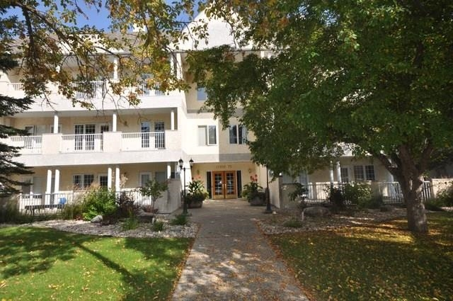Welcome to this beautiful, 2 bed/ 2 bath 1526 sq. ft. south facing condo in Belgravia. Light and bright throughout, this home is filled with sunshine and has a wonderful open layout. Upon entry you will find your roomy entrance with lg. closet and then laundry/storage room off to the side. Steps in on the left is the gorgeous master bedroom with walk-in closet huge 4 piece en-suite and balcony access. The kitchen has white cabinetry, ample counter space, and high end appliances as well as a breakfast nook and pantry. The living room and dining room off the kitchen are large and perfect for entertaining family and friends. There is a fireplace as well as more access to the lovely long balcony. The 2nd bedroom is also roomy and bright with a large closet and a lovely view of trees. The 2nd bathroom is a 3 piece and beautifully neutral. This neighborhood is truly special, with a quick walk to a wonderful meal at Belgravia Hub, quick LRT access, walking distance to the University of Alberta & Whyte avenue.
